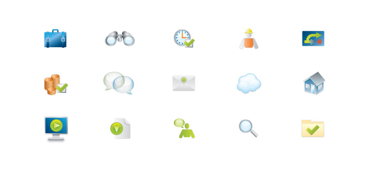 Sciforma Software Icons
