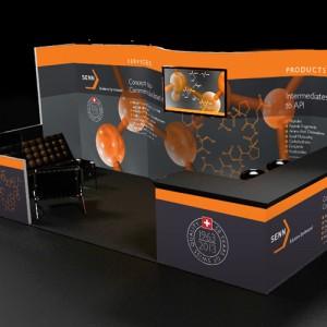 Senn Tradeshow Booth 2013