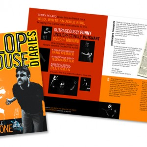 Flophouse Diaries Brochure