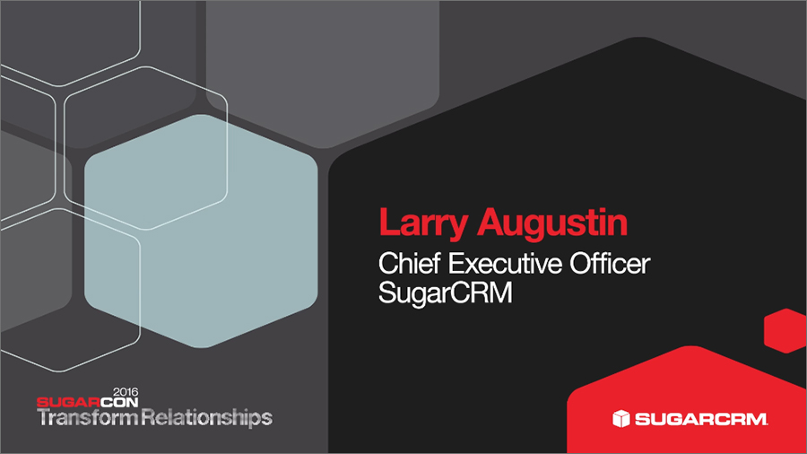 SugarCRM Walk-On video